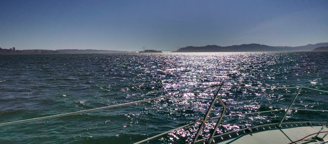 Sailing to Angel Island